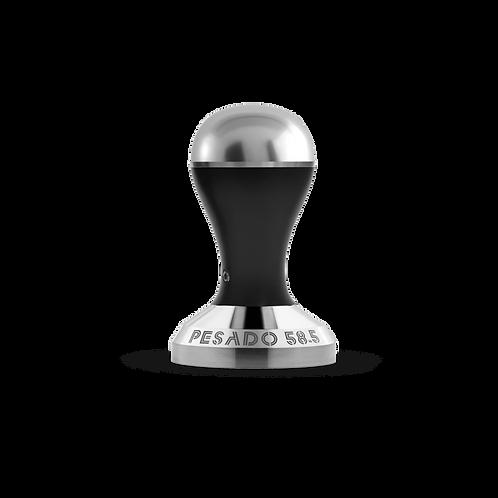 Pesado 58.5 Tamper - Black & Silver