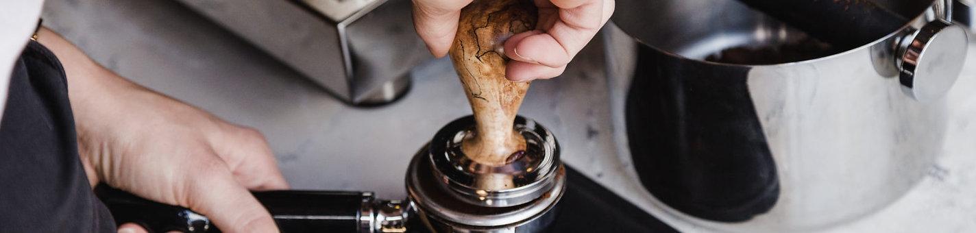 coffee tamper, portafilter, knockbox, espresso malaysia