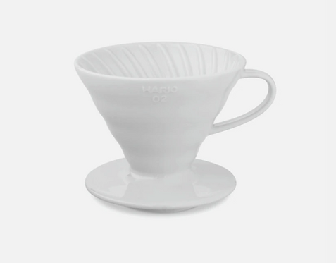 Hario V60 Coffee Dripper 02 - Ceramic (White)