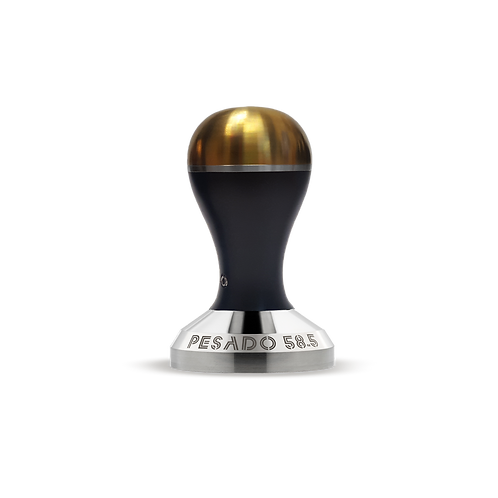 Pesado 58.5 Tamper - Black & Gold