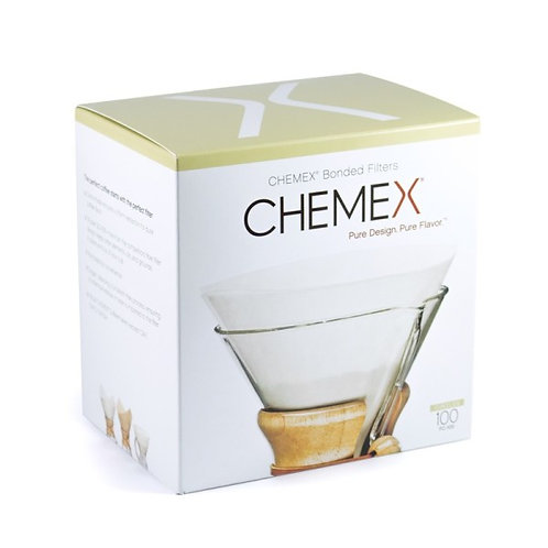 Chemex Bonded Filters Pre-Folded Circles - Pack of 100