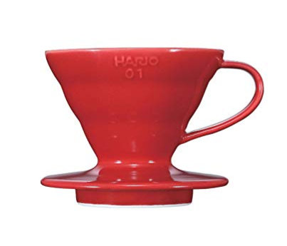 Hario V60 Coffee Dripper 01 - Ceramic (Red)