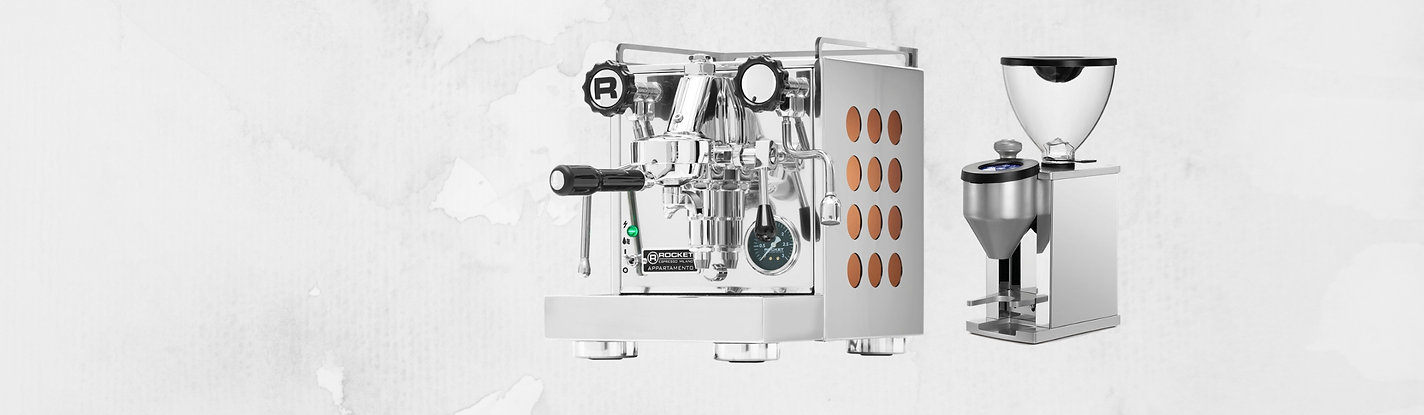 Rocket Appartamento, Rocket Faustino, Rocket Espresso Malaysia