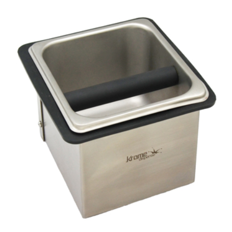 Krome Stainless Countertop Knock Box