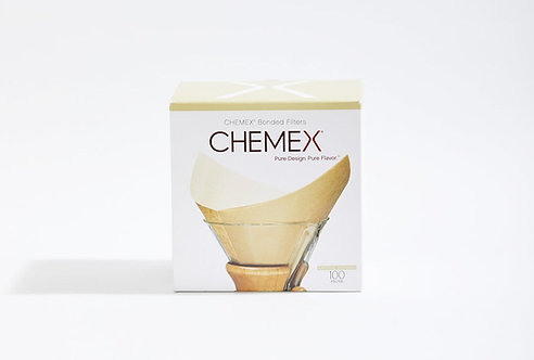 Chemex Pre-Folded Square Filter Papers - Pack of 100