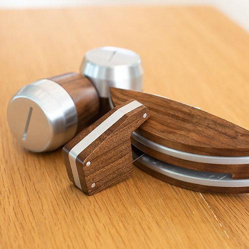 La Marzocco Walnut Wood Customization Kit for Linea Mini