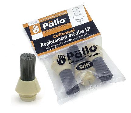 PALLO COFFEE TOOL REPLACEMENT BRUSH BRISTLES - SET OF 3