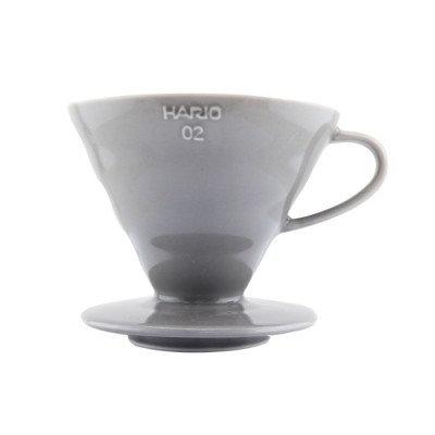 Hario V60 Coffee Dripper 02 - Ceramic (Matt Grey)
