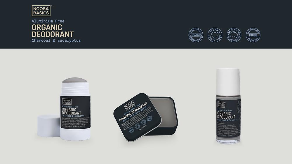 noosa basics, vegan cosmetics, packaging design, mintoiro, branding, webdesign, webbyrå
