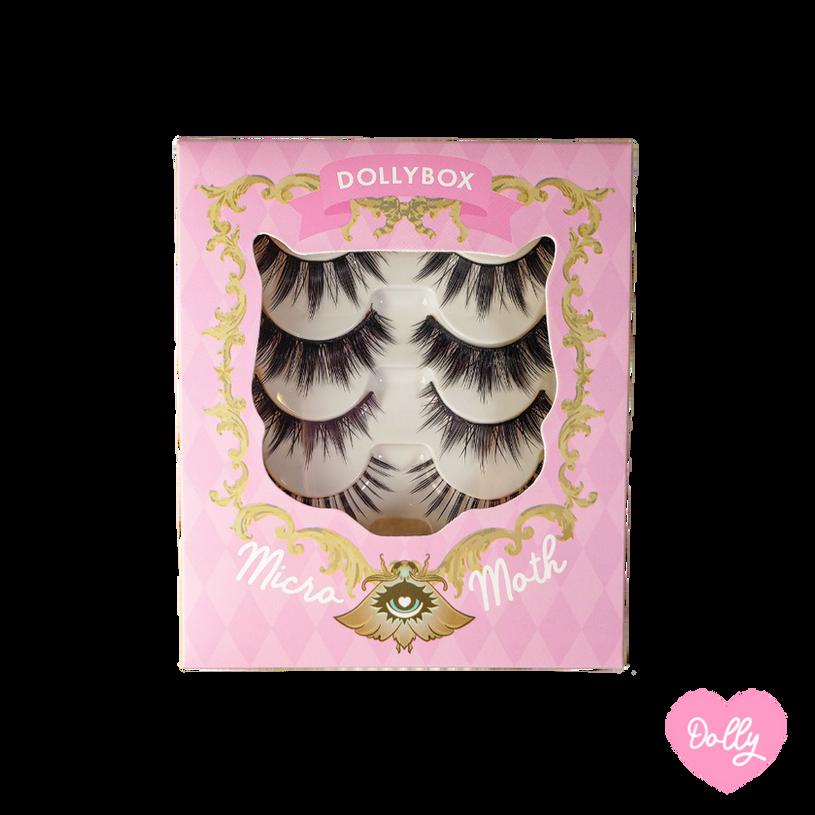 Dolly Micro Moth Eyelashes Box Front