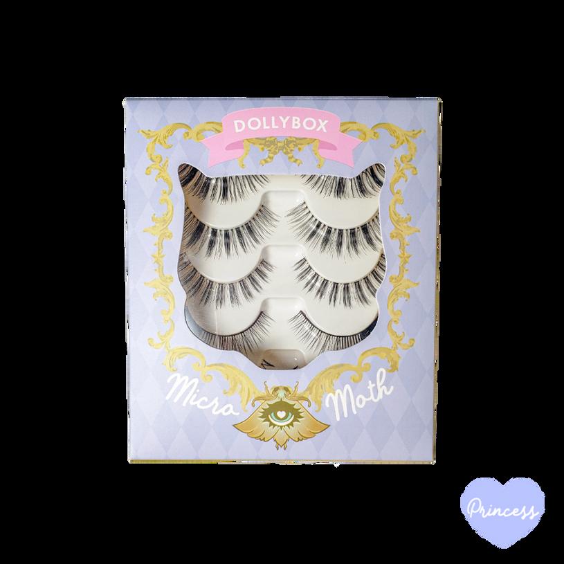 Princess Micro Moth Eyelashes Box Front