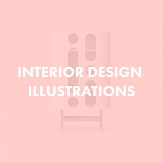 Interior Design Illustration