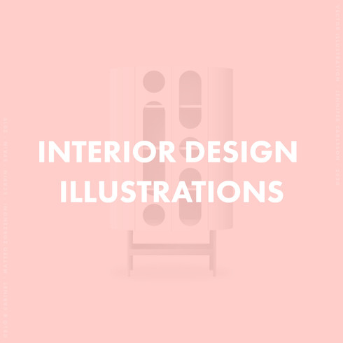 Interior Design Illustration