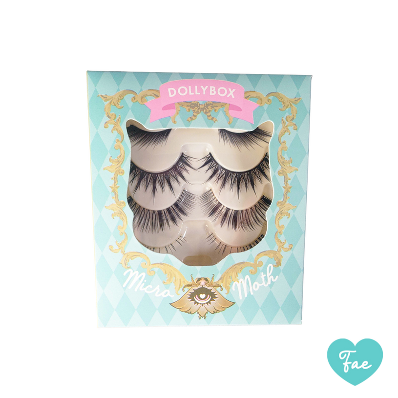 Fae Micro Moth Eyelashes Box Front
