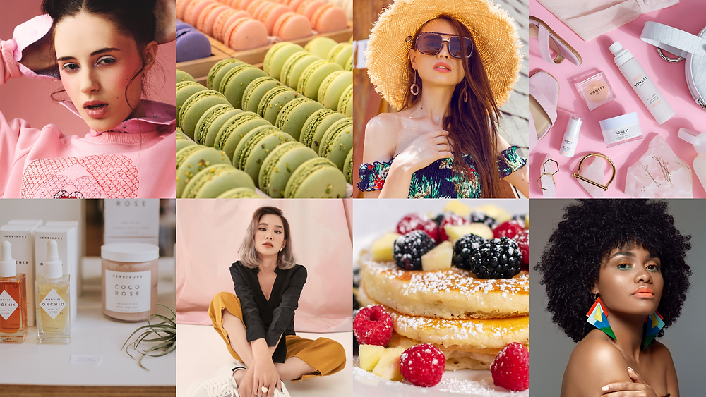 beauty, skincare, dessert, macarons, people,