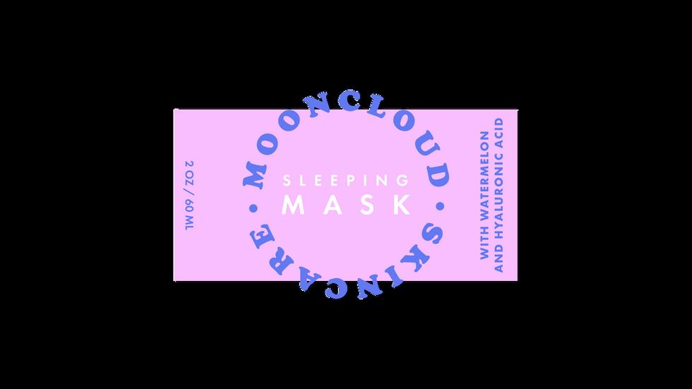 Sleeping Mask Label