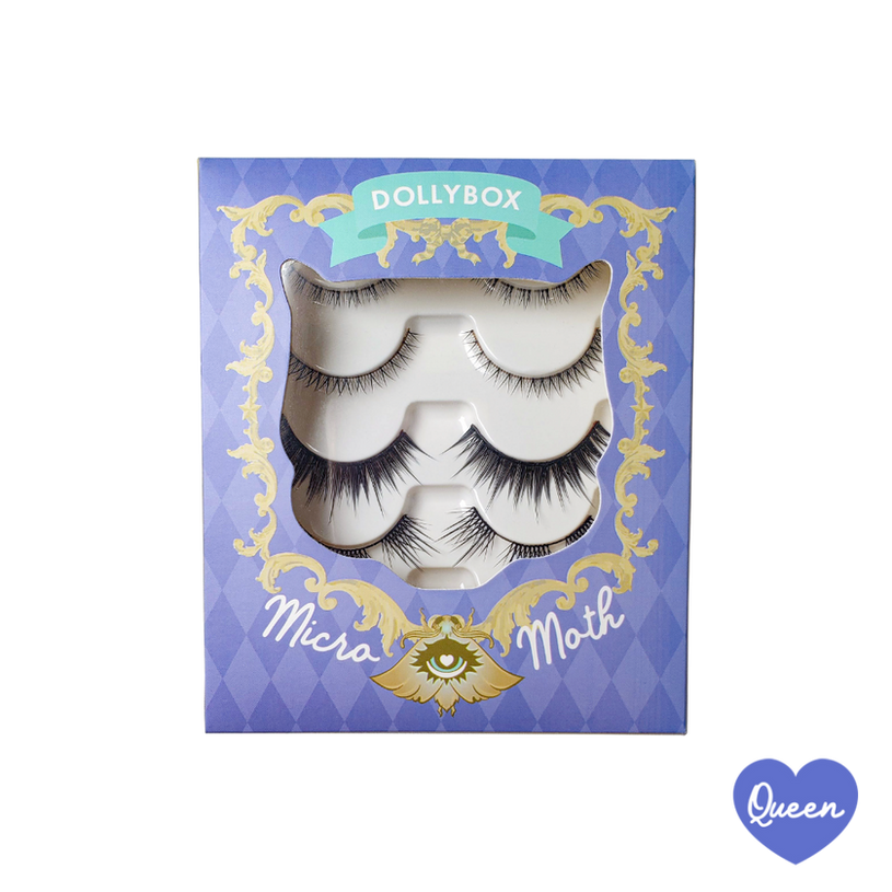 Queen Micro Moth Eyelashes Box Front