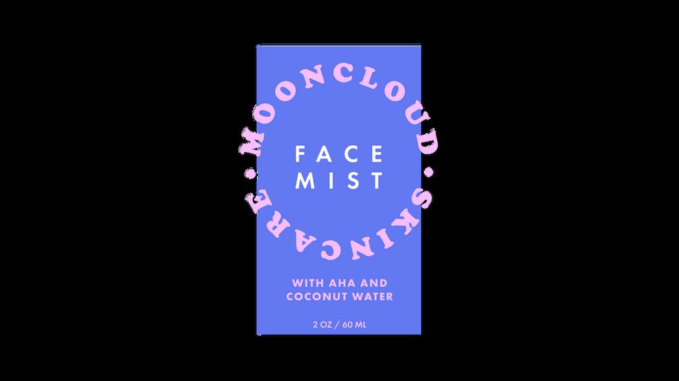 Face Mist Label