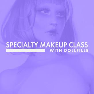 Specialty Makeup Class