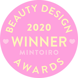 Beauty Design Awards 2020 Winner Badge
