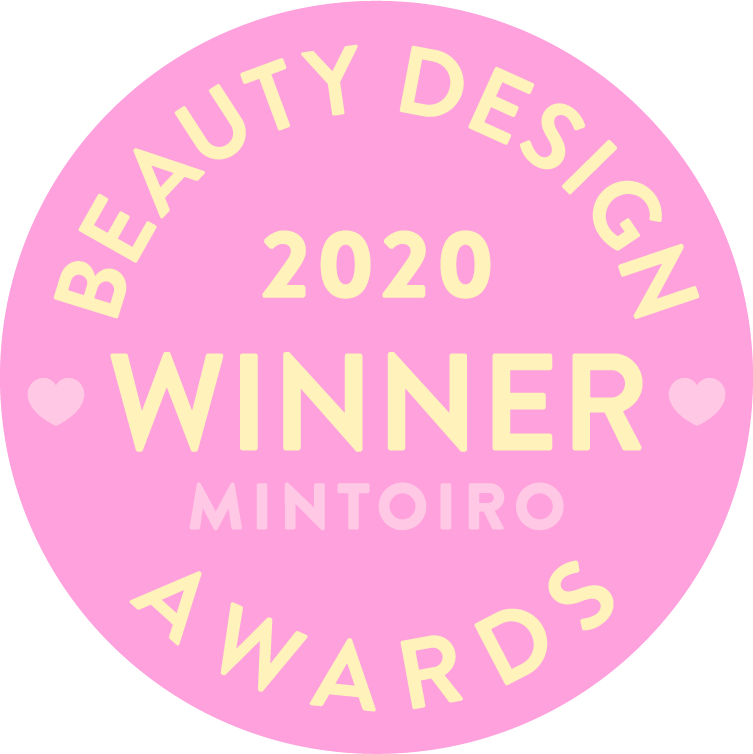 beauty design awards 2020 winner mintoiro