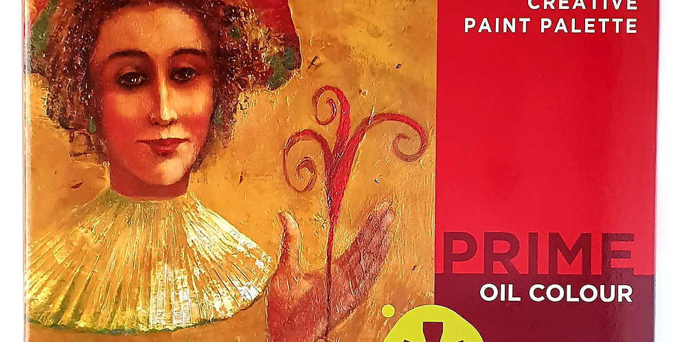 Prime Art Oil Paint Sets 18pc