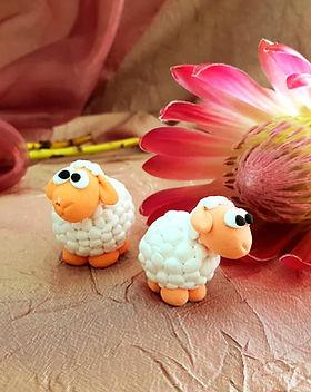 clay sheep