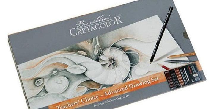 Cretacolor Teacher Set Advanced Drawing 26 Pcs