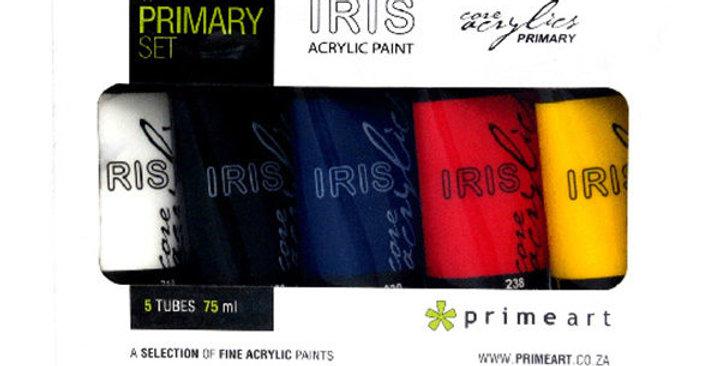 Iris Acrylic Primary 5pc