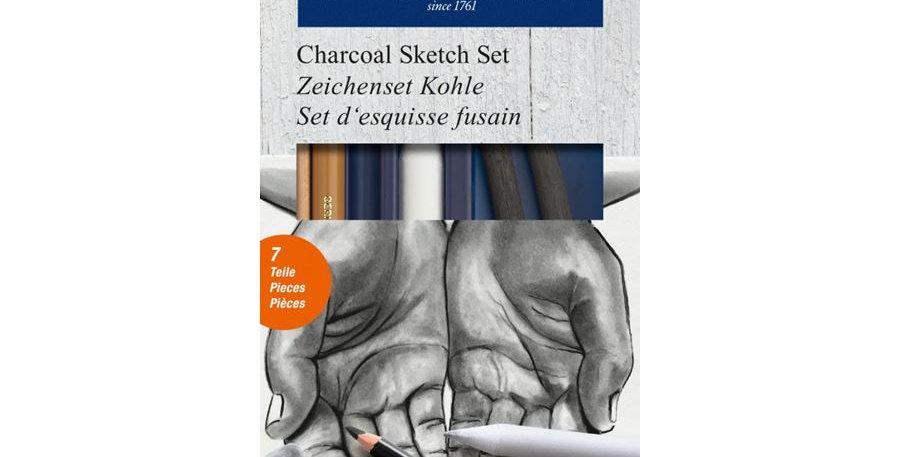Drawing Set Charcoal