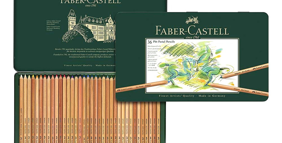 Color pencil Pitt Pastel tin