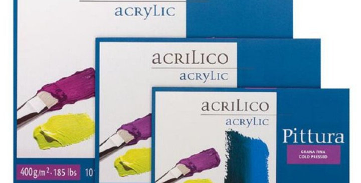 Fabriano Pittura Acrylic Pad 400gsm