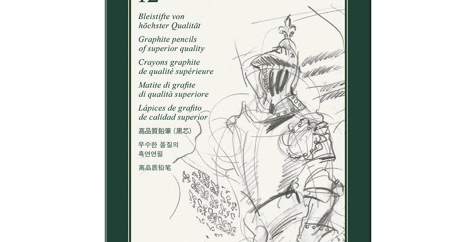 Graphite pencil Castell 9000 Art set