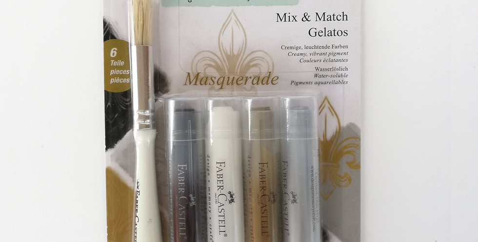 Mix & Match Gelatos Masquerade 6pc