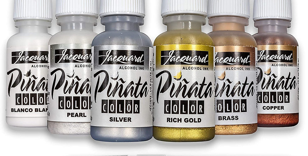Pinata Metallic Alcohol Ink