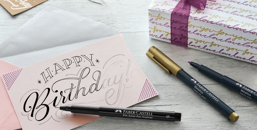 Hand Lettering gift set, 12 pieces