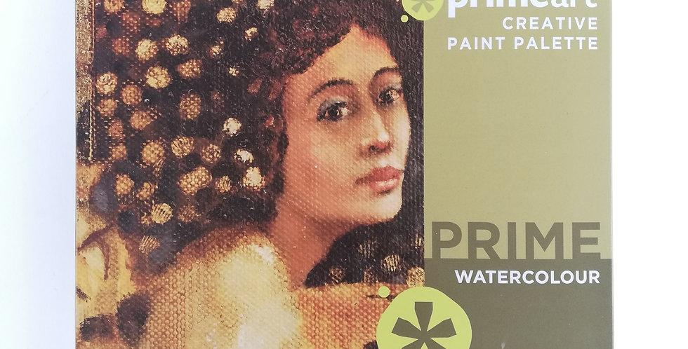 Prime Art Watercolour Paint Set 18 x 12ml Tubes