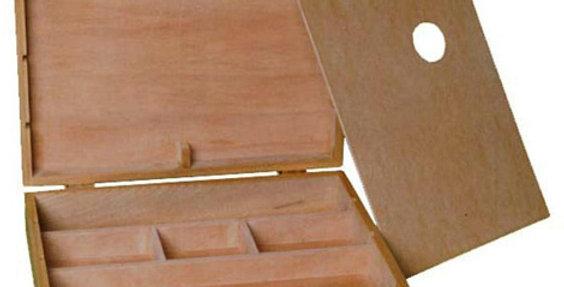 Prime Art Large Suitcase Style Wooden Artbox