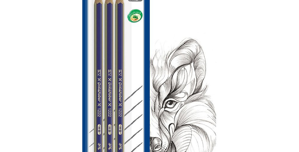 3 Goldfaber HB Pencils