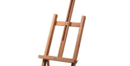 Compact Wooden Table H-Frame Easel