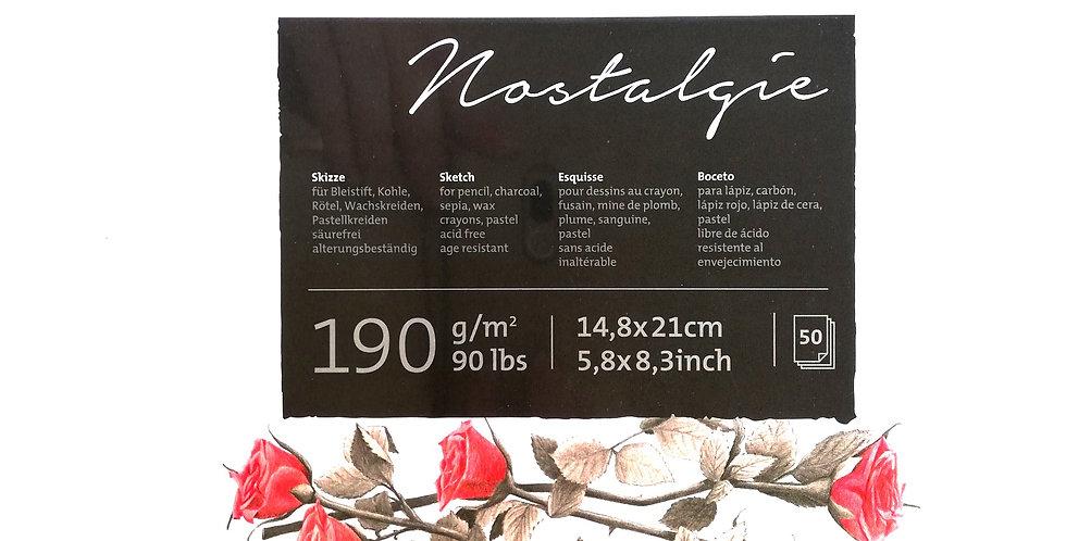 Hahnemühle Nostalgie Sketch Pad 190gsm