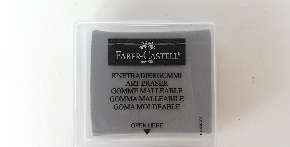 Kneadable eraser grey in plastic box