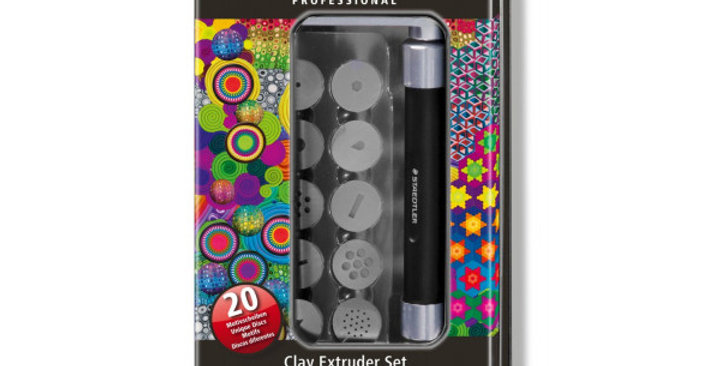 Professional Clay Extruder Tool Set