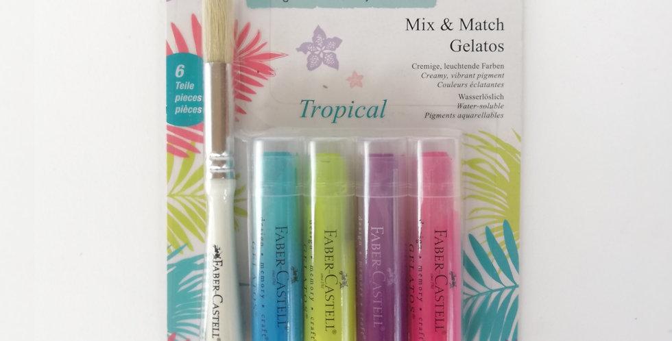 Mix & Match Gelatos Tropical 6pc