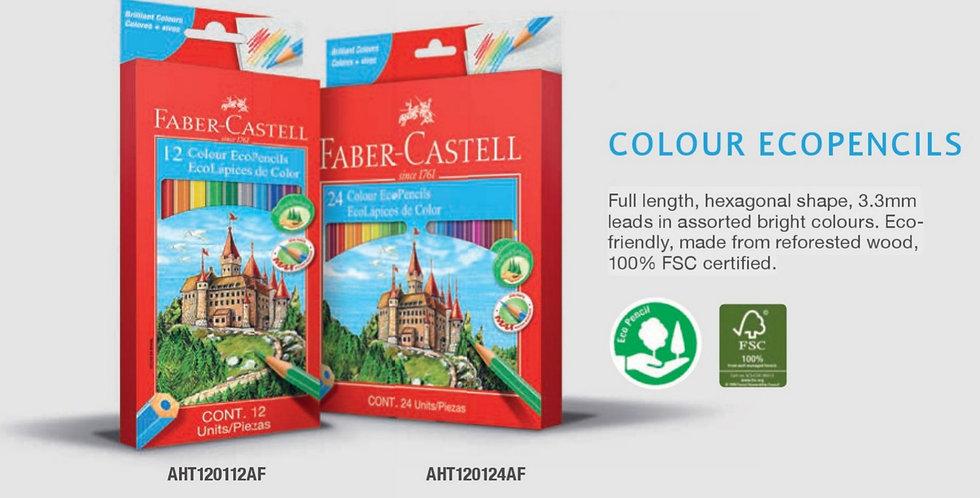 24 Colour EcoPencils