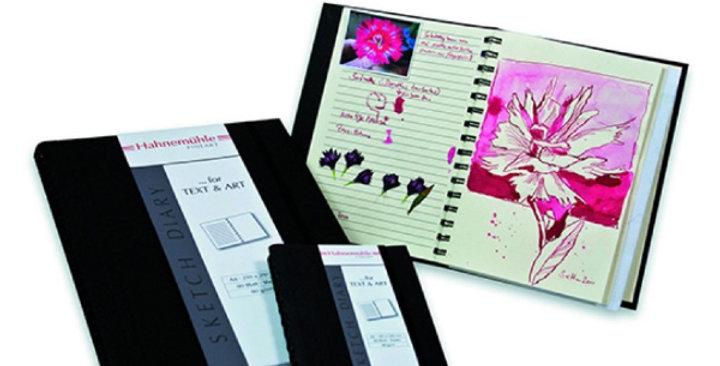 Hahnemühle Sketch Diary Spiral Black