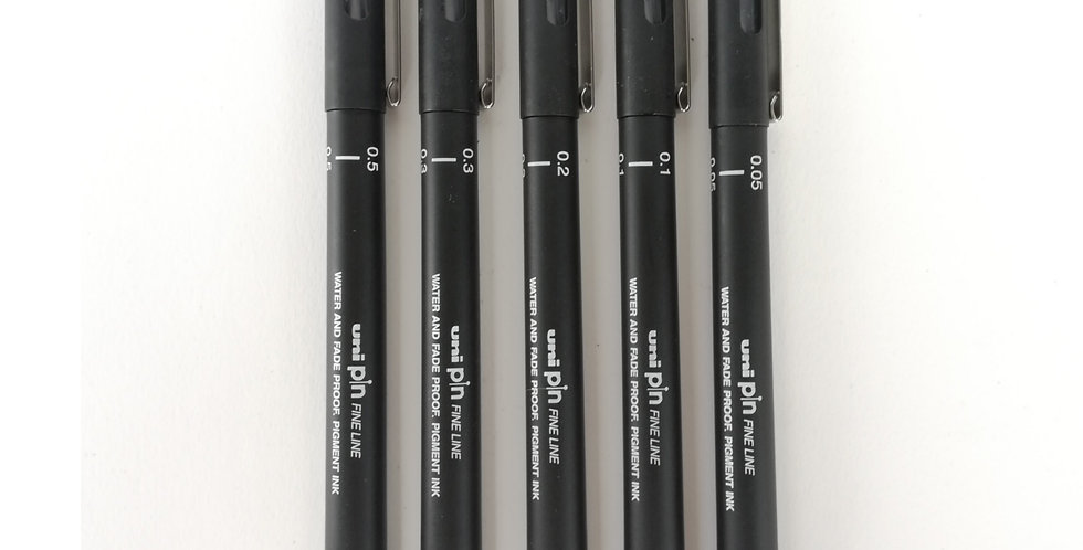 UniPin Fine liner Black