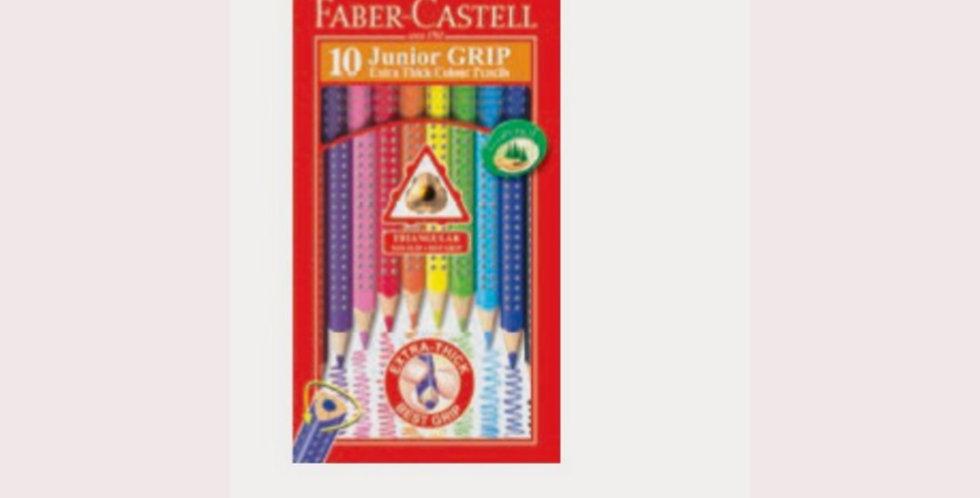 Junior Colour Grip Pencils