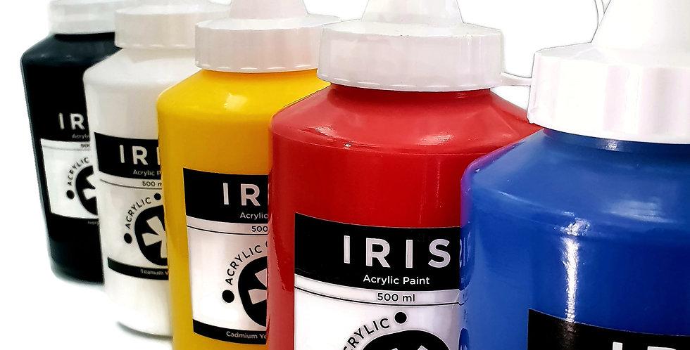 Iris Acrylic Primary 500ml