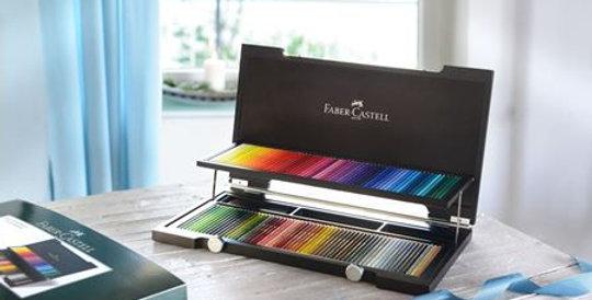 Colour Pencil Polychromos wood case of 120